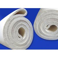 China Nomex High Temperature Felt Knitted Fabric Meta Aramid Felt Compactor Process on sale