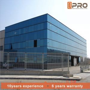 Buy cheap Waterproof Storefront Glazing Aluminium Facade Curtain Wall product