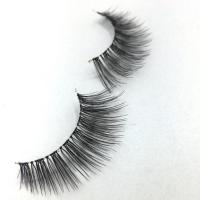 Buy cheap Real Siberian 3D Mink Lashes Individual Mink Lash Extensions Natural Style from wholesalers