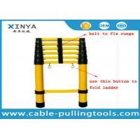 China FRP Insulation Ladder Safety Tools Multi - Section Insulated Telescopic Ladder wholesale