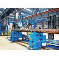 Buy cheap TIG / Fine Wire SAW Header Nozzle Welding Machine For Orthogonal Joint product