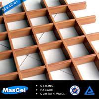 Buy cheap Aluminium grid ceiling/ metal grid ceiling and aluminum ceiling tiles 600*600mm for home product