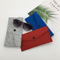 Buy cheap custom microfiber sunglasses pouches or glasses bag holder.size:9cm*18cm. 2mm from wholesalers
