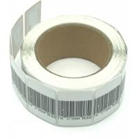 Buy cheap High Detection Rate Round Security Solution AM Label In Roll / Anti Theft Tag product