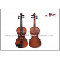 Buy cheap Solid Straight Grain Conservatory Spruce Top Flamed Maple Wood Violin product