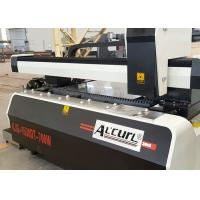 Buy cheap Fully Automatic CNC Fiber Laser Tube Cutting Machine With Dual Interchangeable Tables product