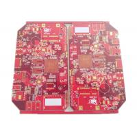 Buy cheap Battery Chargers Power Supply PCB & PCBA 4 Layers FR 4 Red Soldmask product