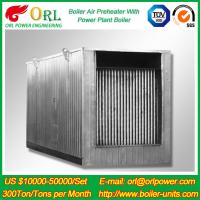 Buy cheap Natural Gas Industry 10 Ton Ponderance 150 MW APH Heating Boiler Air Preheater product