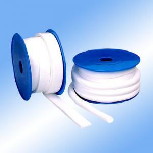 Buy cheap Temperatura alta revestida blanca de la tela de la fibra de vidrio de PTFE ampliada product