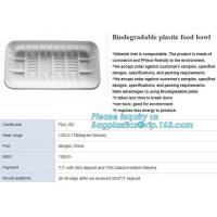 Buy cheap blister packaging tray, rectangular plastic food tray, CornStarch PLA cement tray product