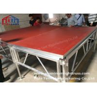 Buy cheap Spigot Arch Aluminum Stage Truss For Music Event High Strength 400x600mm product