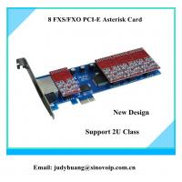 Buy cheap Clear voice!8 ports fxo/fxs asterisk card same as digium TDM810E product