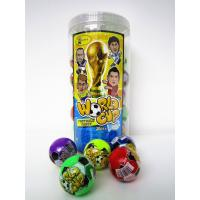 Buy cheap The Word Cup Theme healthy hard candy / 6g multi fruit flavor football shape hard candy in jars product
