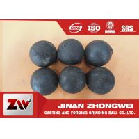 Buy cheap No Breakage Grinding Steel Balls for mining and Cement / steel mill media product