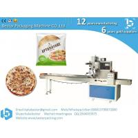 Buy cheap Frozen pizza semi-finished cheese pizza, Naples pizza automatic plastic film flow packaging product