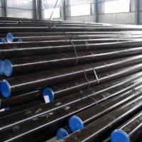Buy cheap Steel Pipes, 20#, 45#, 16Mn C20, C45 and ST52 A106 A53, API 5l and 5ct Grade product