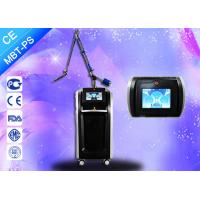 Buy cheap Powerful Pico Laser Treatment Tattoo Pigment Hair Removal 600-750ps Pulse Width product