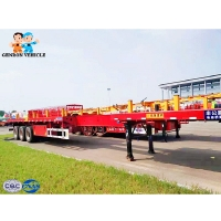 China Multifunctional Iso 45T Extendable Container Semi Trailer on sale