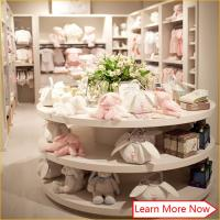 China Customized great clean neat baby apparel stores,baby boutique shop with good quality on sale