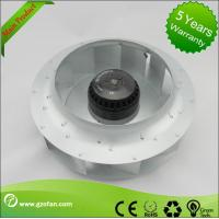 China Low Noise Quiet Centrifugal Fan / AC Brushless Fan For Ventilating Units on sale