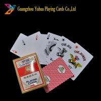Buy cheap Both Side Used Casino Playing Cards Custom Printing 310gsm Black Core Paper product