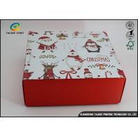 Buy cheap Customized Chrismas Luxury Christmas Packaging Paper Gift Box Recycled Materials product