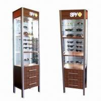 Buy cheap Wood and Glass Display Showcase for Sunglasses product