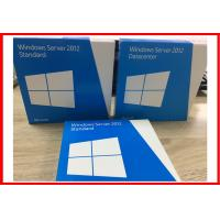 Buy cheap Genuine 64 Bit  DVD windows server 2012 standard 5 user  Full version Retail Box product