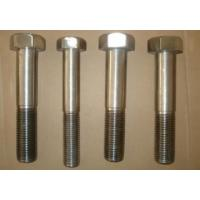 China Inconel 718 Nickel Alloy Fasteners Hex Head Bolts 1/4 - 4 ASME B18.2.1 on sale