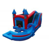 Buy cheap Inflatable Castle Combo Bounce House , Blow Up Bounce House 0.55mm PVC Tarpaulins product