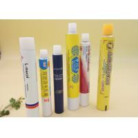 Buy cheap Pharmaceutical Cream Collapsible Aluminium Tubes , ISO CFDA Empty Cream Tubes product