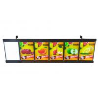 Buy cheap 185X60cm Led Menu Board Display System Menu Display Sign Box Swift 5 images product