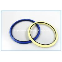 Buy cheap Creamy White Polyurethane PU Hydraulic Rod Buffer Seal For Excavator / Bulldozer product
