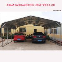 Buy cheap Regular style portable metal carports and carport with roofing sheet for one/two/three cars product