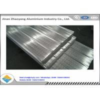 Buy cheap Feeding Width 900mm Corrugated Aluminum Sheet / Galvalume Roofing Sheet YX15-225-900 product