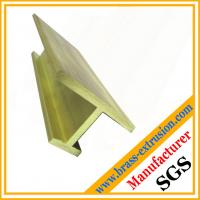 Buy cheap C38500 brass extrusions profiles frames covers C38500 CuZn39Pb3  CuZn39Pb2 CW612N C37700 product