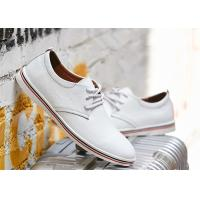 Buy cheap Fashion Cowhide Leather Lace Up Shoes , Comfortable Business Casual Shoes Men product