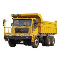 Buy cheap Rated load 55 tons Off road Mining Dump Truck Tipper  drive 6x4 with 35 m3 body cargo Volume product