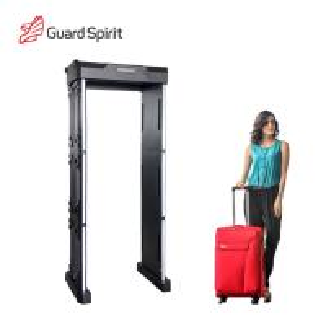 Buy cheap Gray Wand Portable Walk Through Metal Detector / Security Metal Detector Door With High Sensitivity product