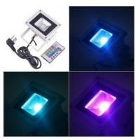Buy cheap High Power 10W RGB LED Flood Light Fixture with Remote Garden Landscape product