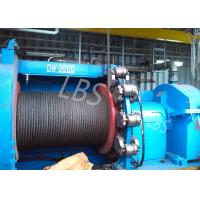 Buy cheap hyraulic and electric Winch Drum for Hoist Equipment Spiral or lebus Grooving type product