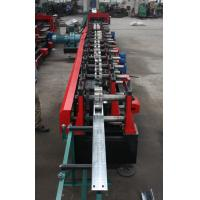 Buy cheap Customized C Z Purlin Roll Forming Machine , Electric Fully Automatic PLC  Control Export Macedonia product