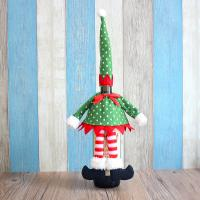 Buy cheap 2015 Xmas decoration christmas bottle cloth red wine cloth bottle cover product