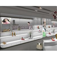 Buy cheap Lady'S Wall Mounted Shoe DisplayUnit Shoe Rack For Showroom Knocked Down Design product