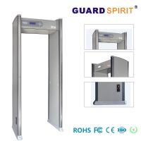 Buy cheap 12 / 18 Zones Exhibition Hall Check Body Scanner Metal Detector Walk Through With 255 Sensitivity product