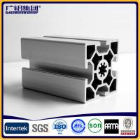 Quality Silver anodized aluminium profiles fabricate windows&doors frames for sale