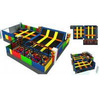 China 203M2 Having Fun Trampoline Park Indoor on Holiday Children Trampoline Park Fashion Style High Quality on sale