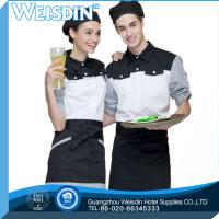 Buy cheap Twill weave advertising cheapest exporter for disposable kitchen apron from wholesalers