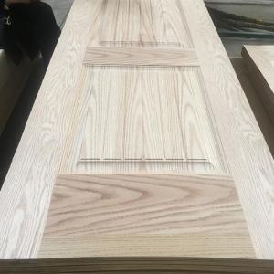 Quality Oak Veneer HDF MDF Door Skin Decoration 4mm Thickness 2150*700/800/950/1020mm for sale