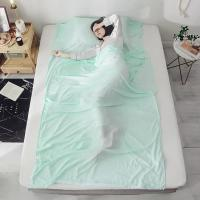 Buy cheap Anti - Dirt Pure Silk Sleeping Bag Liner Foldable For Outdoor Travelling product
